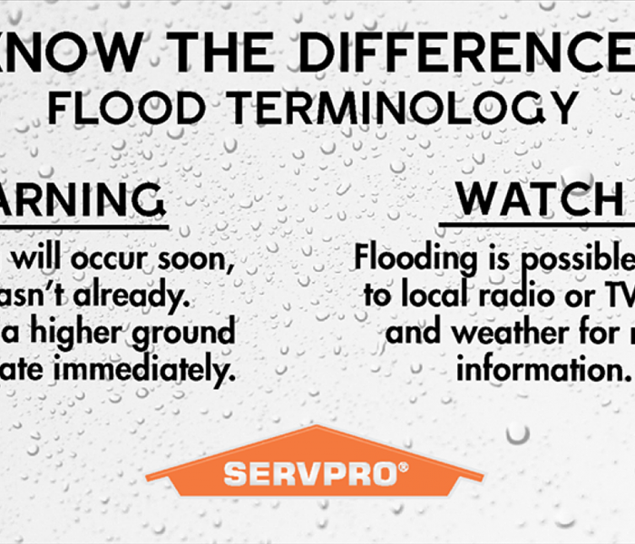 Flood Watch vs Flood Warning | SERVPRO of Hershey / Swatara
